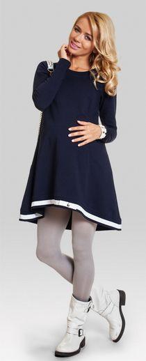 Lulu хлопковая туника свободного кроя для беременных