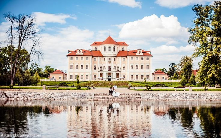 Gorgeous destination wedding in Prague and Chateau Baroque one of best castles in Czech republic. Big day photos taken by professional photographer in Prague Artur Jakutsevich.