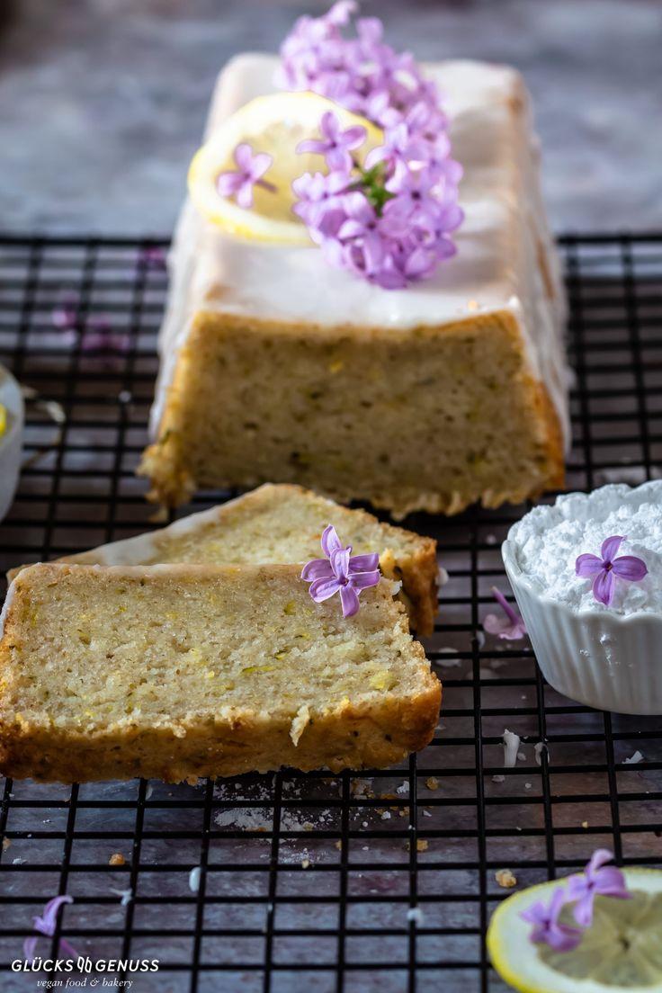 Saftiger Zucchini-Zitronen-Kuchen / vegan, gluten-& zuckerfrei