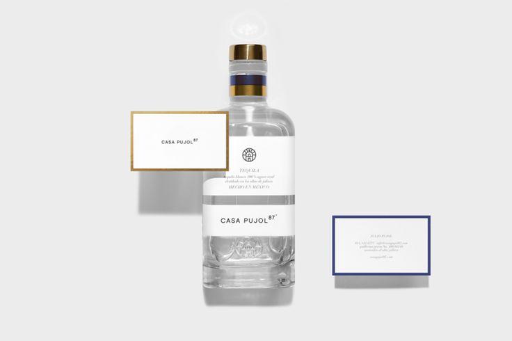 Modern Branding For Tequila Casa Pujol   Trendland