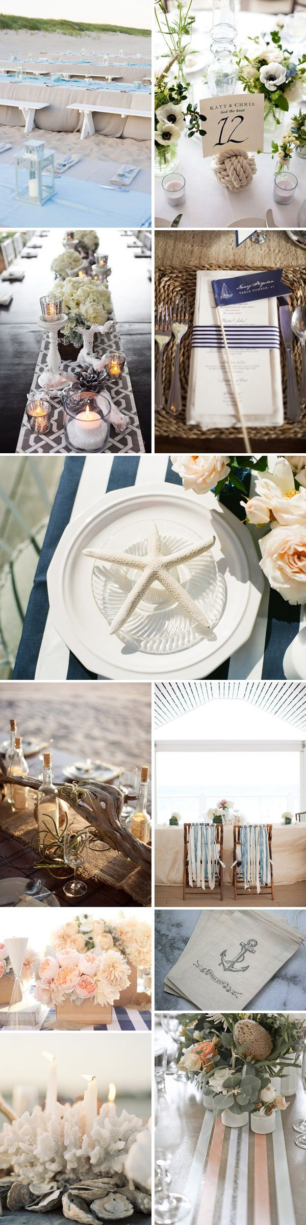 28 best Nautical Wedding Ideas images on Pinterest | Nautical ...