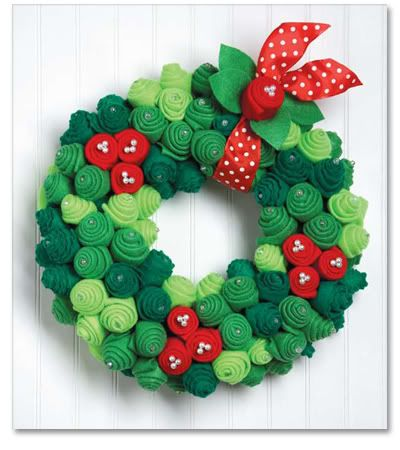 Adaptable design to any holiday colors...make flowers in color/leaves in green.