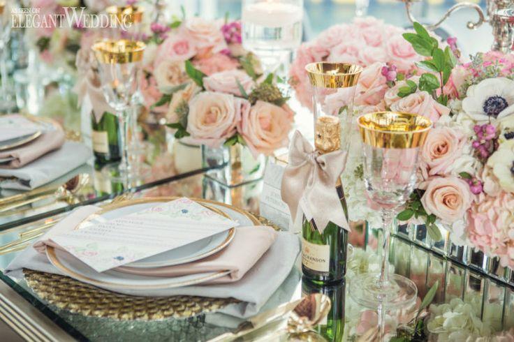Sex And The City Wedding Inspiration | Elegant Wedding