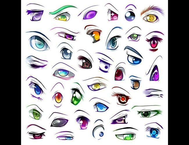ojos anime hombre kawaii: Ojos Kawaii Anime - Buscar Con Google