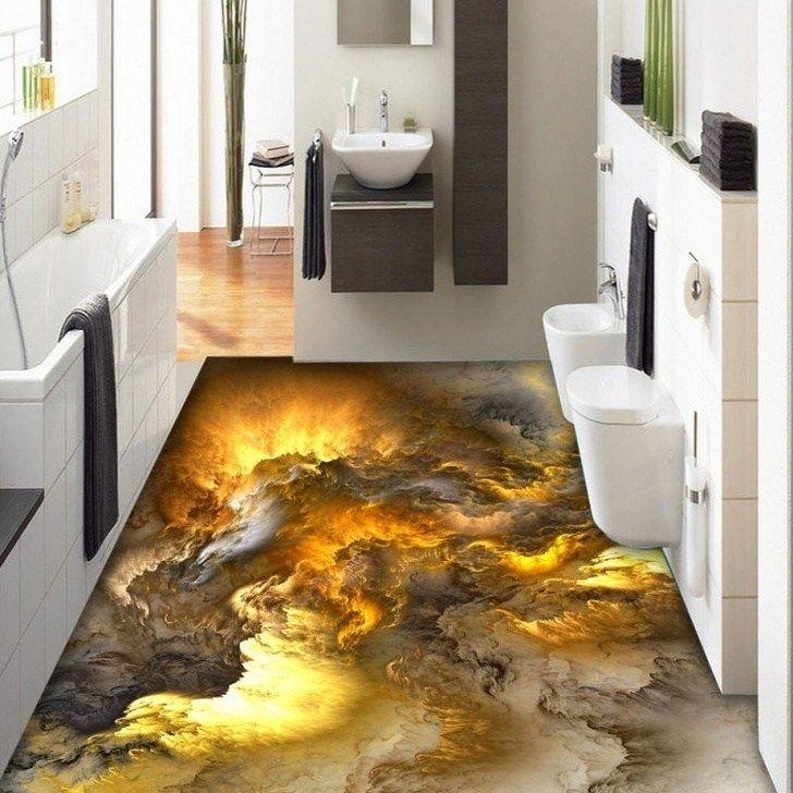 30 Thrilling 3d Floors That Will Amaze You 3dfloordesigns Amazingart Artwork 3dfloors Bemethis Floor Wallpaper 3d Flooring Tile Bedroom