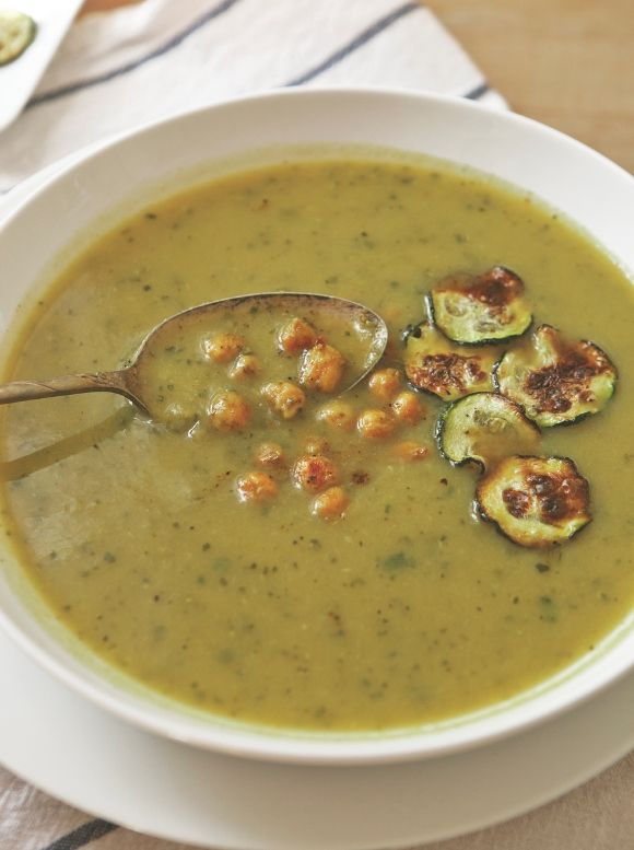 Curried Zucchini Soup Recipe - Minus the butter and the beans for whole 30... I'm gonna try !!