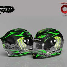 Monster Energy Helmet #F1 #F12013TheGame