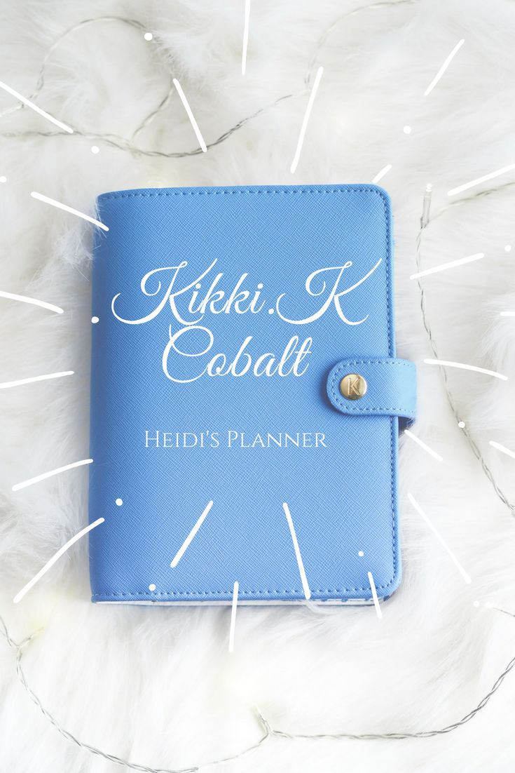 Kikki.K Cobalt planner review