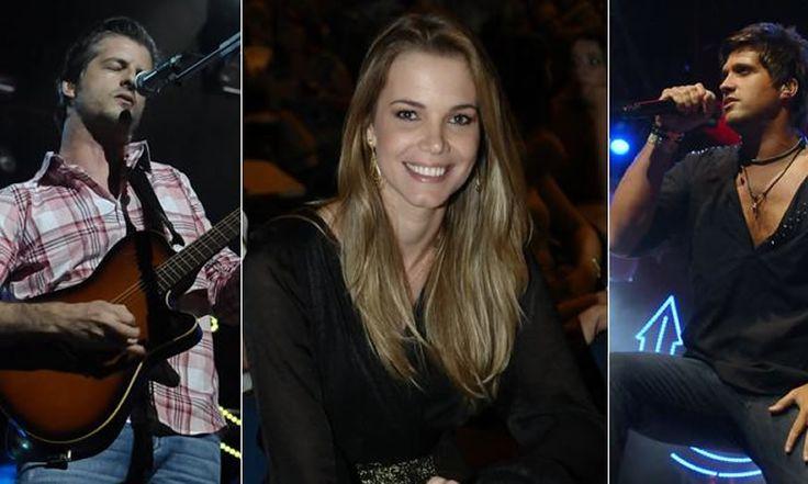 """Namorada de Victor Chaves curte show do """"love"""" em São Paulo"""