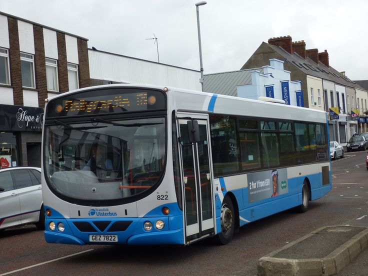 Ulsterbus Transportation, Long distance, Travel