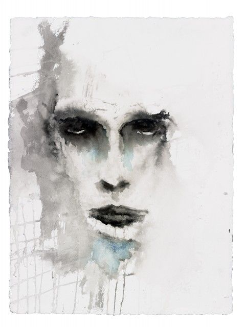 Marilyn Manson Watercolours <3 http://marilynmanson.com/art/paintings/