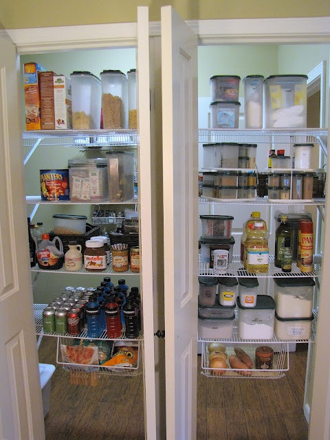 56 Best Organized Pantries Images On Pinterest Kitchen