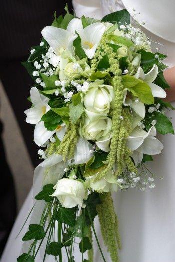 Brautstrauß fließend