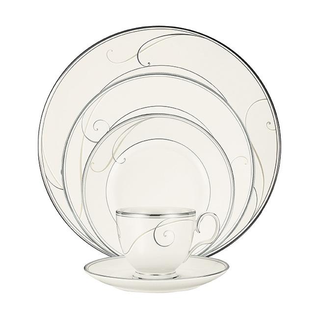 Noritake Platinum Wave formal dinnerware. www.noritake.com.au