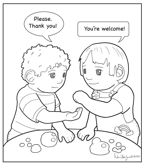 Coloring Pages Kindness