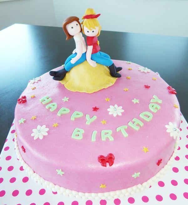 Bibi U0026 Tina   Torte   Bibi U0026 Tina Cake