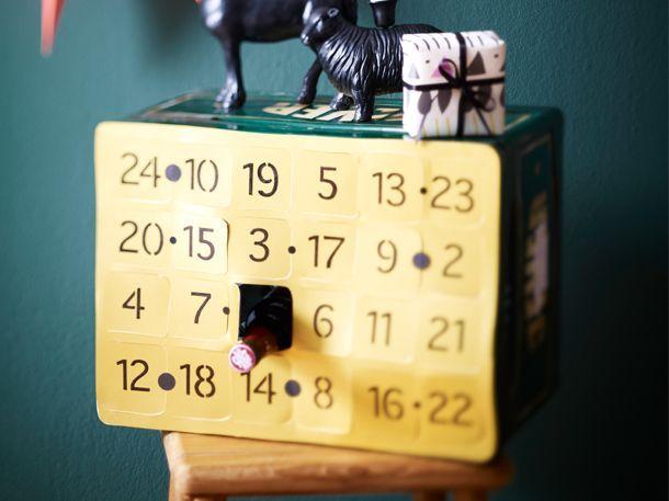 Du suchst nach Bastelideen für den Adventskalender? Dann ist unser Bier-Adventskalender genau das Richtige für dich!Ein Kalender, den