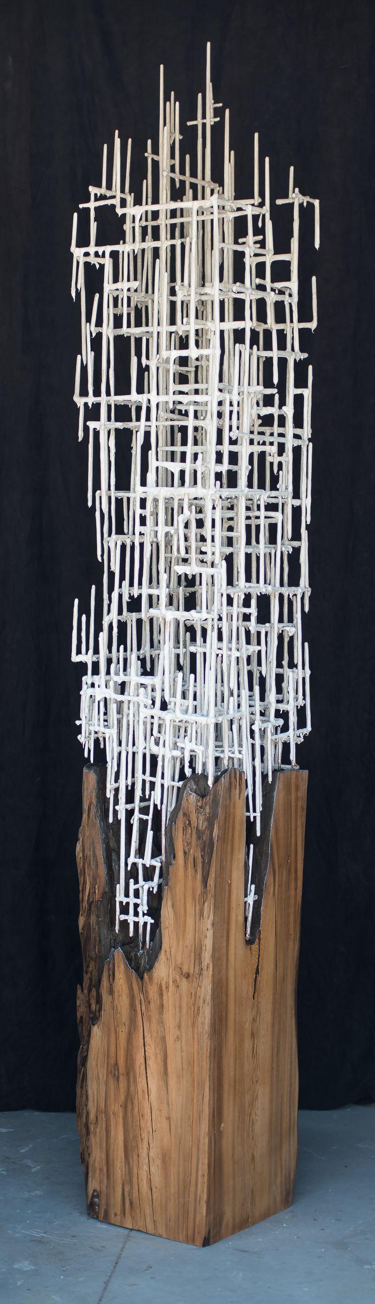 HUMAN TREE II by JUSTIN  GAFFREY