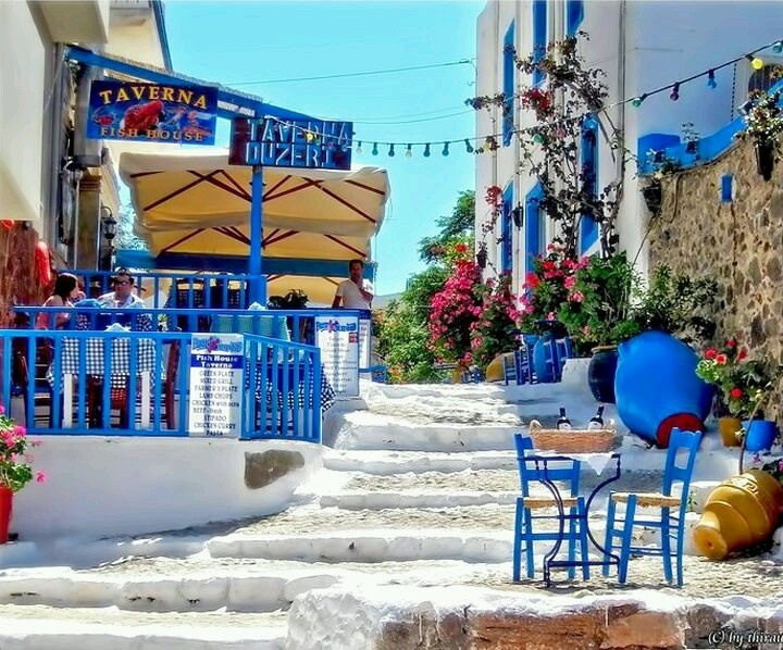 Greek taverna, kos island!