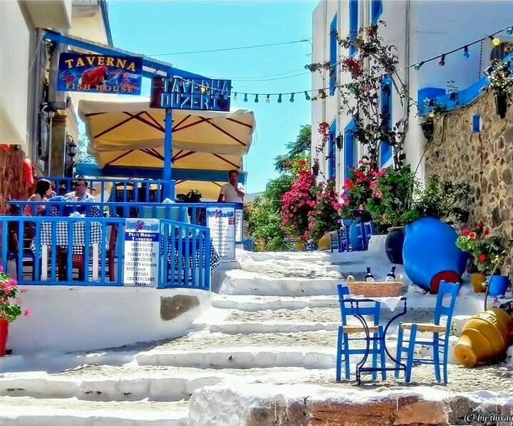Greek taverna, kos island!