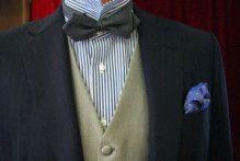 【こだわり】シャツもオーダーしました|結婚式の新郎タキシード|新郎衣装はメンズブライダルへ