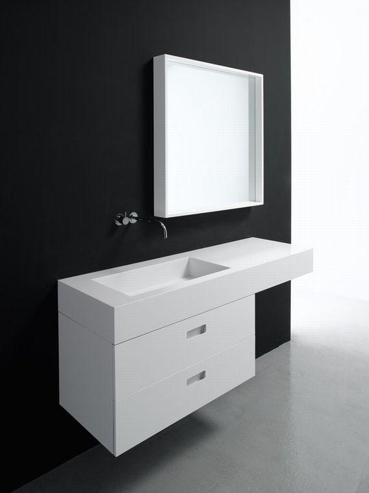 Infinity ist Sistems Produkt für das Bad von Nespoli & Novara.
