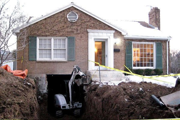 Awesome Digging Basement Under Existing House