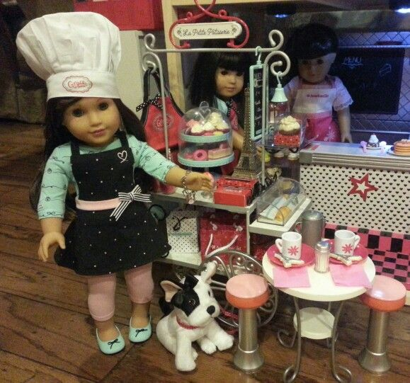 American Girl Doll of the Year 2015 Grace is open and ready for Business!!!