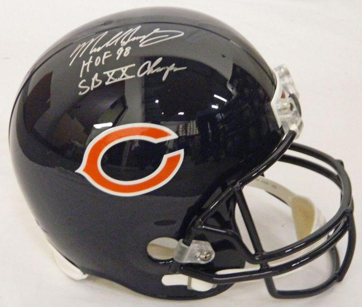 AAA Sports Memorabilia LLC - #MikeSingletary Signed #ChicagoBears Riddell Full-Size Replica Helmet w/#HOF 98, #SBXXChamps (SINREP314), $206.95 (http://www.aaasportsmemorabilia.com/nfl/chicago-bears/mike-singletary/mike-singletary-signed-chicago-bears-riddell-full-size-replica-helmet-w-hof-98-sb-xx-champs-sinrep314/)