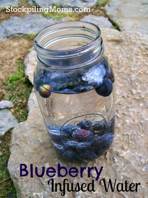This Blueberry Infused Water is delicious and all natural!  Great Paleo drink!