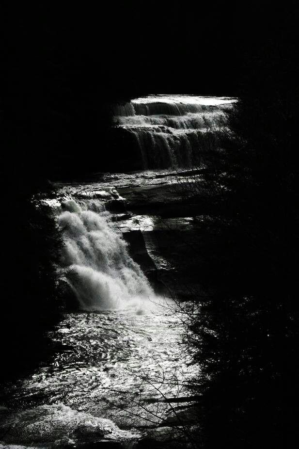 Moonlight Triple Falls