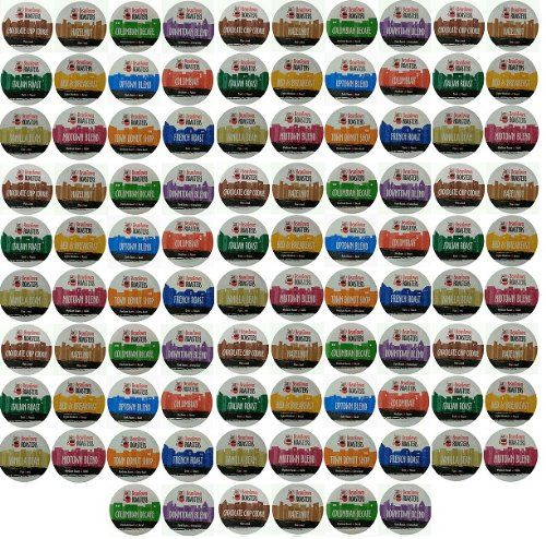 96 Pack Beantown Roasters 12 Assorted Roasted Coffees Variety Pack Sampler Coffee K-Cups for Single-Serve Cups, Keurig K-Cups and Compatible K-Cup Brewers 96 Count - http://hotcoffeepods.com/96-pack-beantown-roasters-12-assorted-roasted-coffees-variety-pack-sampler-coffee-k-cups-for-single-serve-cups-keurig-k-cups-and-compatible-k-cup-brewers-96-count/