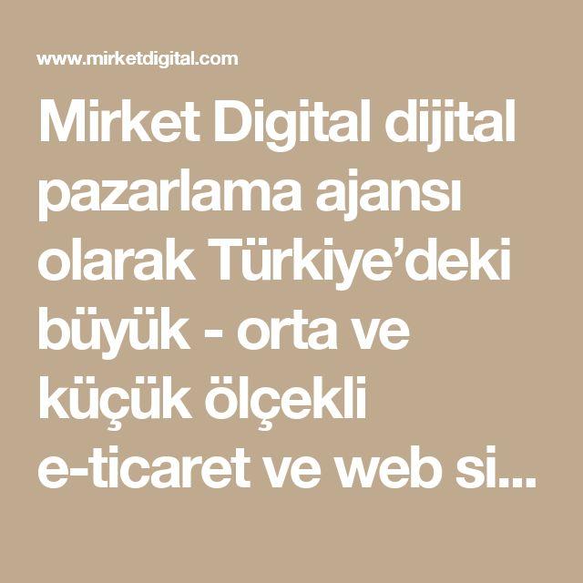 Mirket Digital dijital pazarlama ajansı olarak Türkiye'deki büyük - orta ve küçük ölçekli e-ticaret ve web siteleri için yaptığımız dijital pazarlama çalışmalarının verdiği deneyimle, 2016 itibariyle dijital pazarlama danışmanlığına başladık. Danışmanlık yaptığımız alanlar arama motoru pazarlamasından (Google Adwords danışmanlığı), sosyal medya reklamlarından, gelir ortaklığı modelinden dinamik yeniden pazarlamaya kadar performansı ölçülebilen her dijital pazarlama kanalını kapsıyor. Sizin…