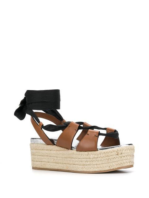 337b3be1fae Miu Miu Flatform Sandals - Farfetch