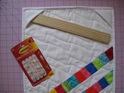 Hang Your Quilt Using Corner Pockets & Command Hooks