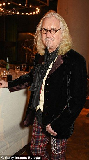 Honest: Billy Connolly (pictured in January) has said he had suicidal thoughts…