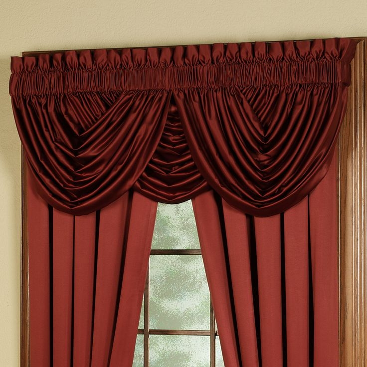 Color Classics(R) Waterfall Valances and Curtains