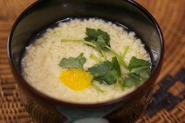 NHK WORLD TV | Your Japanese Kitchen | Steamed Soft Egg Custard Soup (encore)