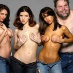 3 Sexy Girls And A Guy Called Moe!!