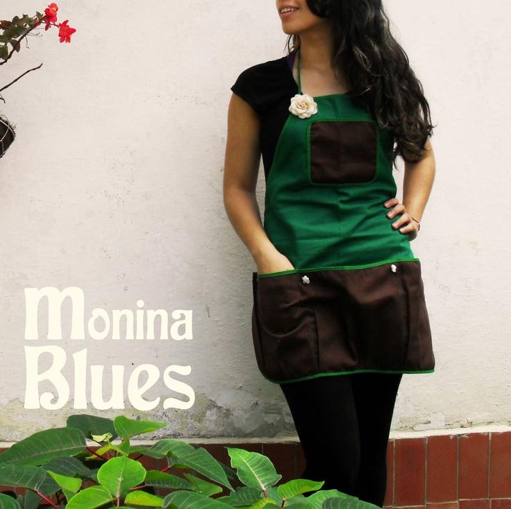 Delantal otoñal encárgalo a hello@moninablues.com!  www.moninablues.com