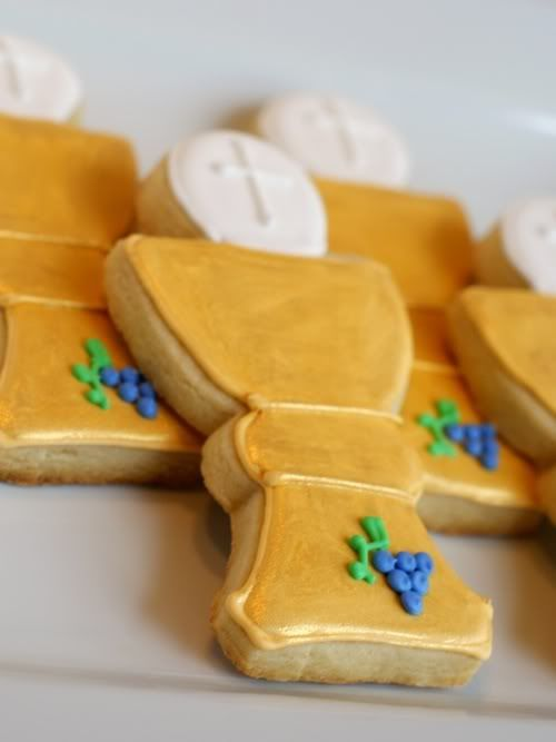 First Communion Cookie Favors - Decorating Tips