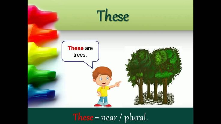Demonstratives (THIS/THAT/THESE/THOSE)