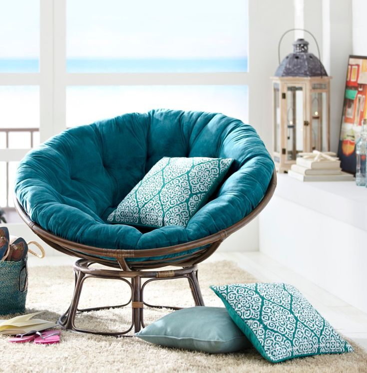 Take comfy and cozy to a new level with the iconic Papasan Chair