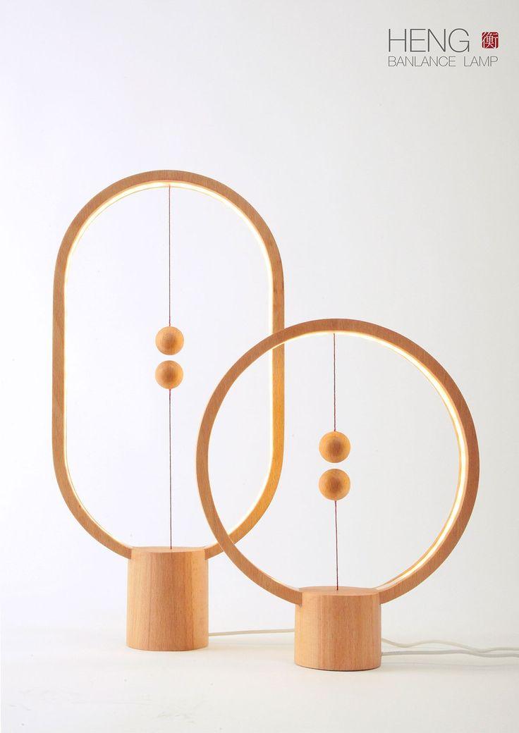 Heng balance lamp by Zanwen Li
