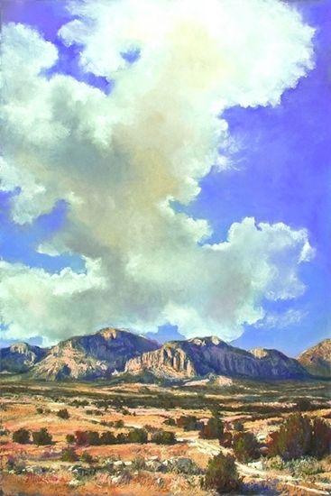 Ascend by Margi Lucena Pastel ~ 36 x 24