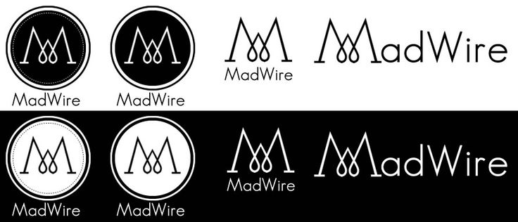 New logo for my MadWire jewelry  So I've decided to change my logo... like or not? and with the dots or without?