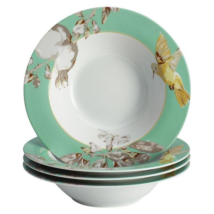 Bonjour Fruitfull Nectar Soup/Pasta Bowl Set of 4,