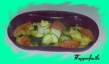 papillotte de poisson aux légumes (cuiseur solo)