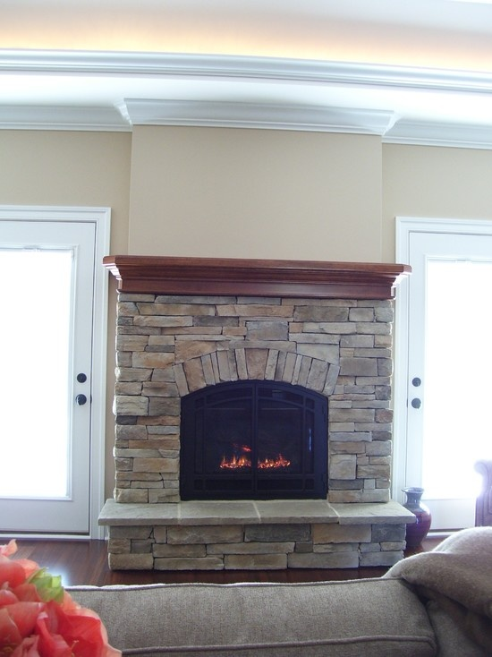 direct vent gas fireplace design pictures remodel decor and ideas - Gas Fireplace Design Ideas