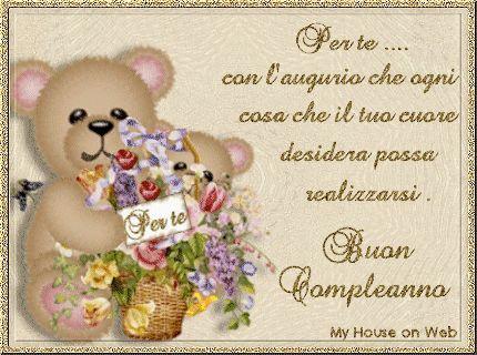 Per te... con l'augurio che ogni cosa che il tuo cuore desidera possa realizzarsi